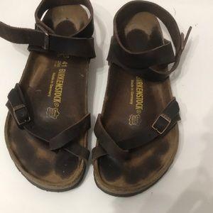 Birkenstock's sandals size 41 in Excellent shape